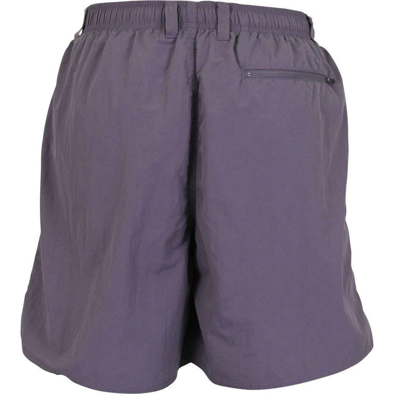 Manfish Swim Trunk in Dark Plum by AFTCO - FINAL SALE