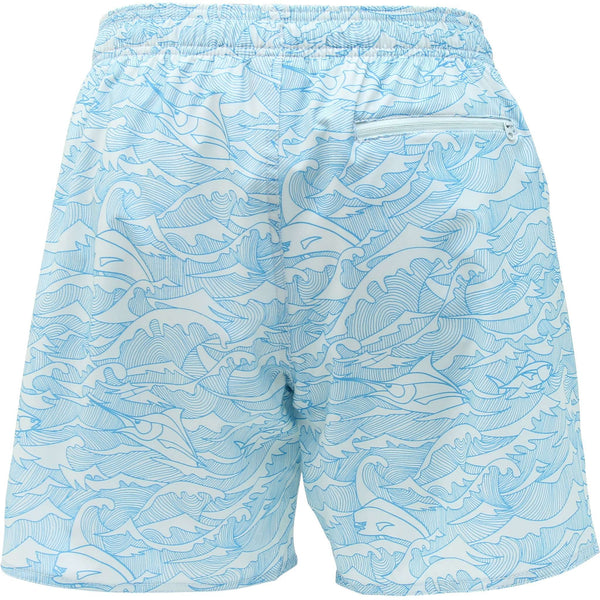 Wavy Gravy Swim Trunks in Vapor by AFTCO - FINAL SALE