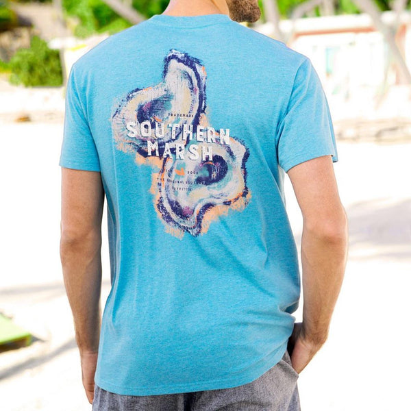 The Impressions Oyster Tee by Southern Marsh