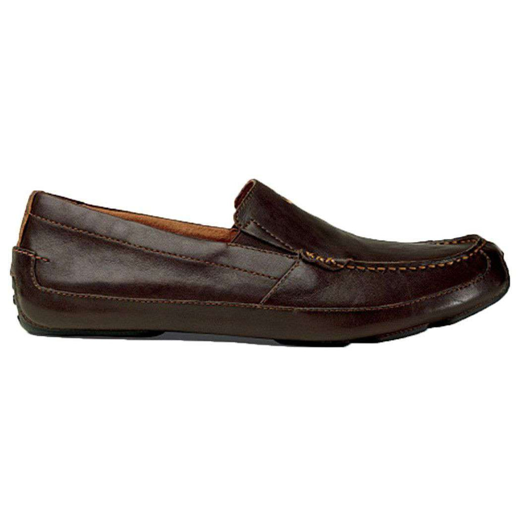 Men's Akepa Moc Loafer in Chocolate by Olukai  - 1