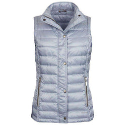 Alasdiar Quilted Gilet in Ice Blue by Barbour  - 1