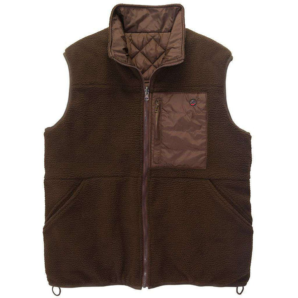 All Prep Reversible Vest in Mulch by Southern Proper  - 1
