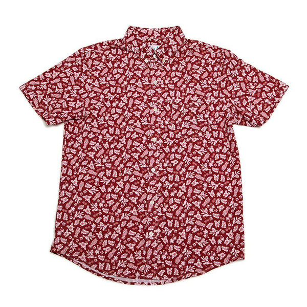 Bermies Aloha Performance Button Down by Bermies