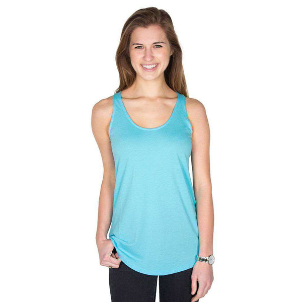 Anna Tank in Crystal Blue by Southern Tide  - 1