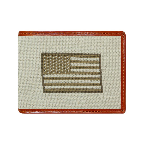 Armed Forces Needlepoint Wallet by Smathers & Branson