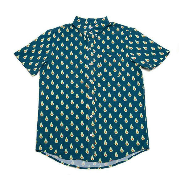 Bermies Avocado Performance Button Down Shirt by Bermies