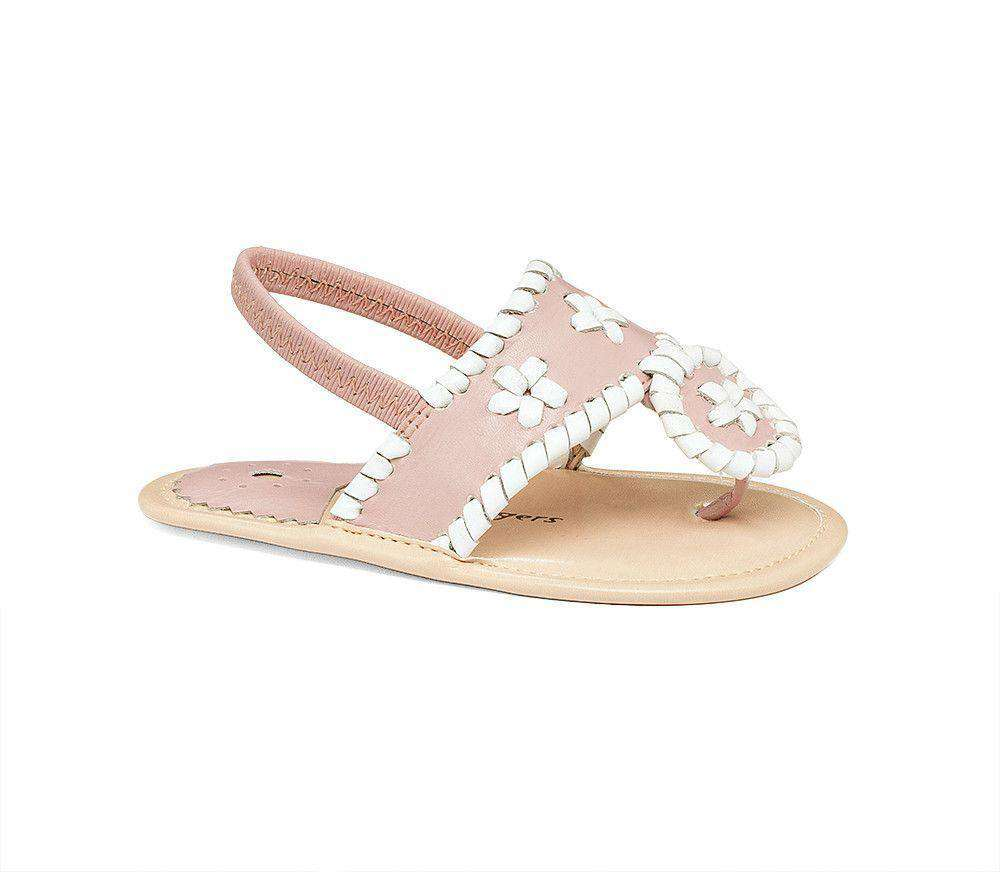 Baby Jacks in Blush / White by Jack Rogers  - 1