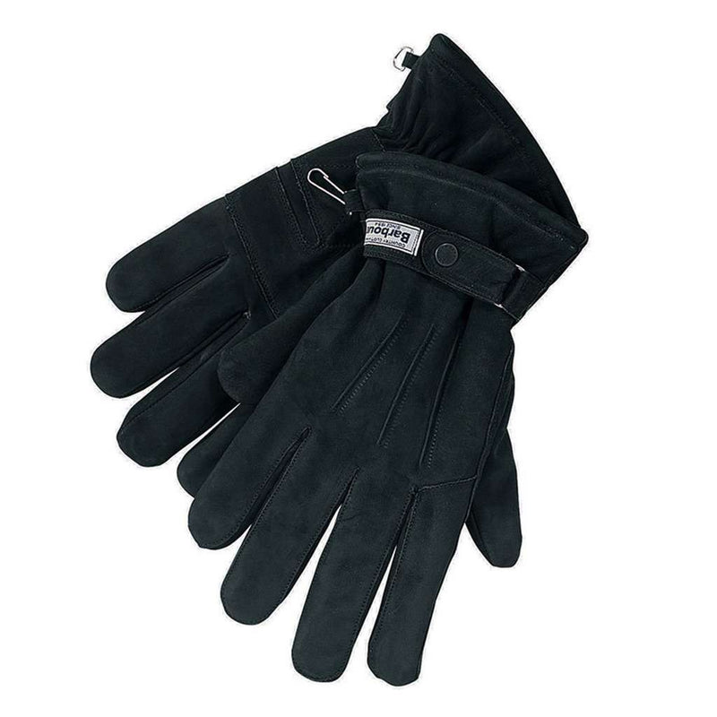 Leather Thinsulate Gloves in Black by Barbour - FINAL SALE