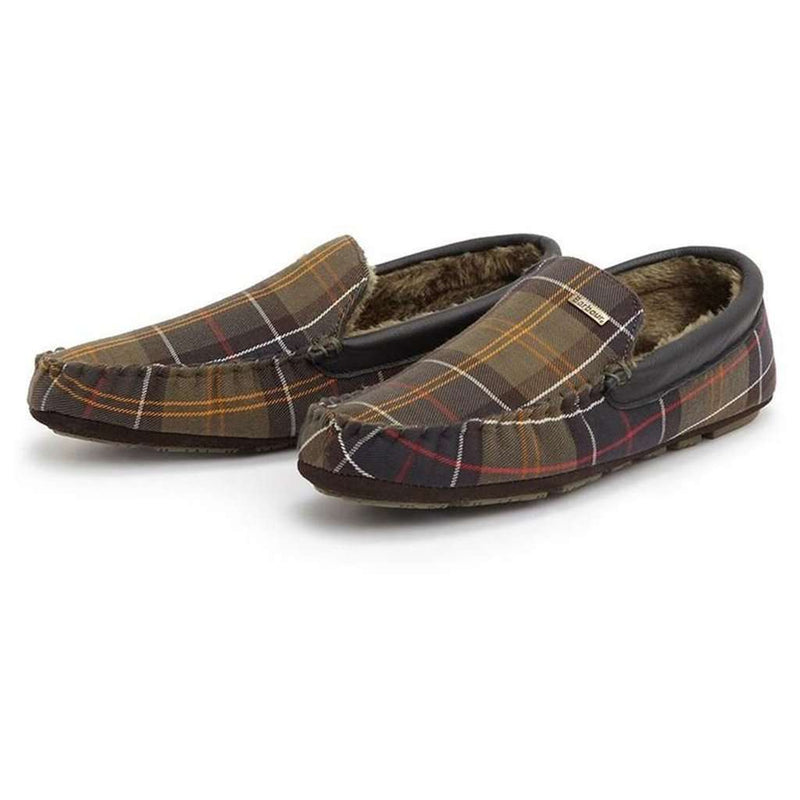 barbour slippers