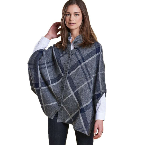 Barbour Muir Cape in Light Grey Marl