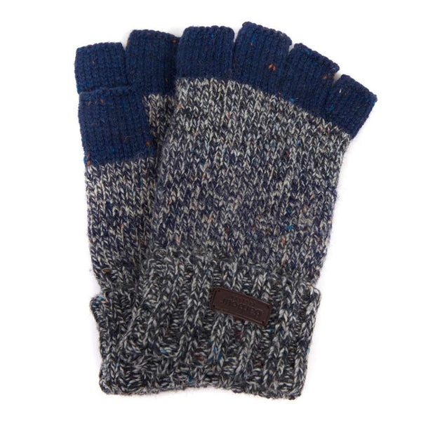 Runshaw Gloves in Grey/Navy by Barbour - FINAL SALE