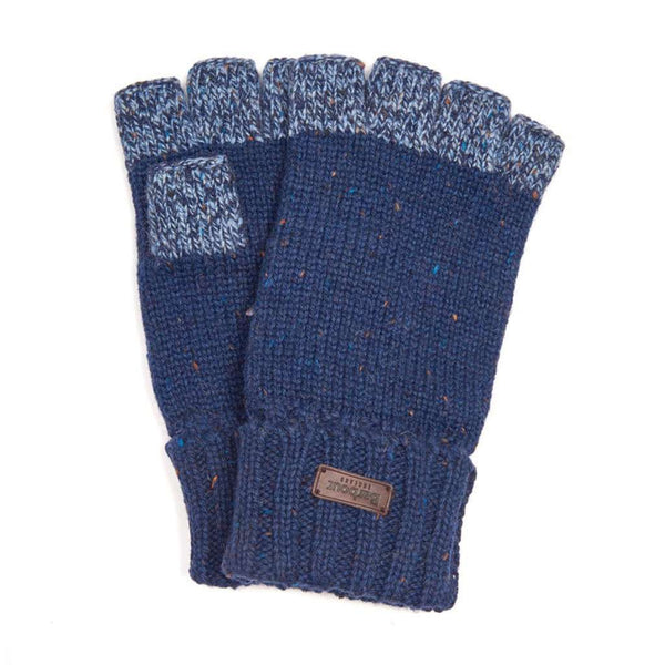 Runshaw Gloves in Navy and Grey by Barbour - FINAL SALE