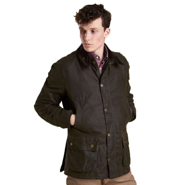 Sterling Wax Jacket in Olive by Barbour - FINAL SALE