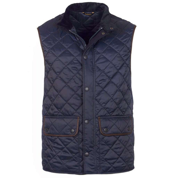 Barbour Tantallon Quilted Gilet in Navy