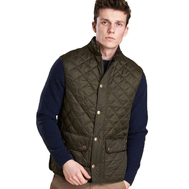 Tantallon Quilted Gilet in Olive by Barbour - FINAL SALE