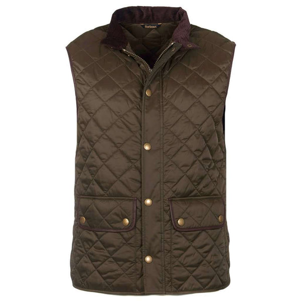 Barbour Tantallon Quilted Gilet in Olive