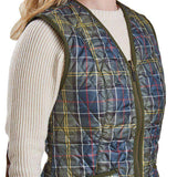 Betty Interactive Gilet Liner in Classic Tartan by Barbour  - 4