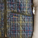 Betty Interactive Gilet Liner in Classic Tartan by Barbour  - 5
