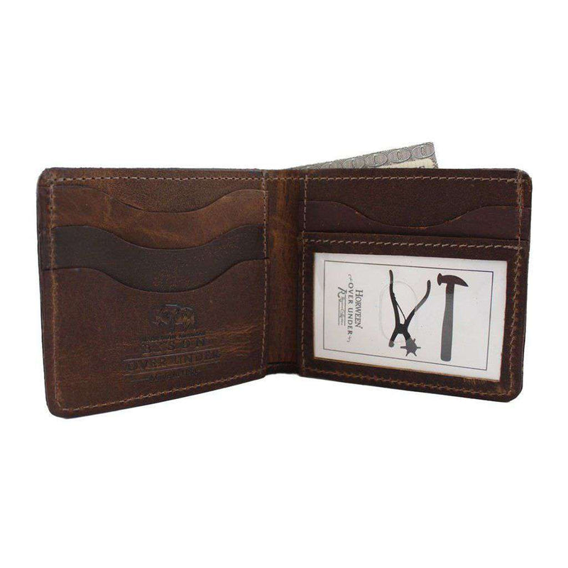 Over Under Clothing Bison Bi-Fold Wallet by Over Under Clothing