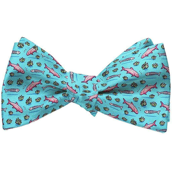Bonefish Flats Bow Tie in Turquoise by Bird Dog Bay - FINAL SALE