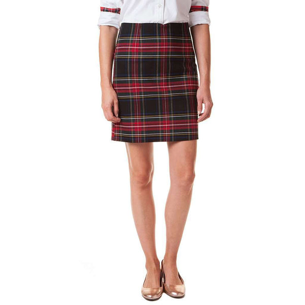 Country Club Prep Black Stewart Plaid / 0