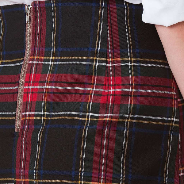 Castaway Clothing Plaid Ali Skirt by Castaway Clothing