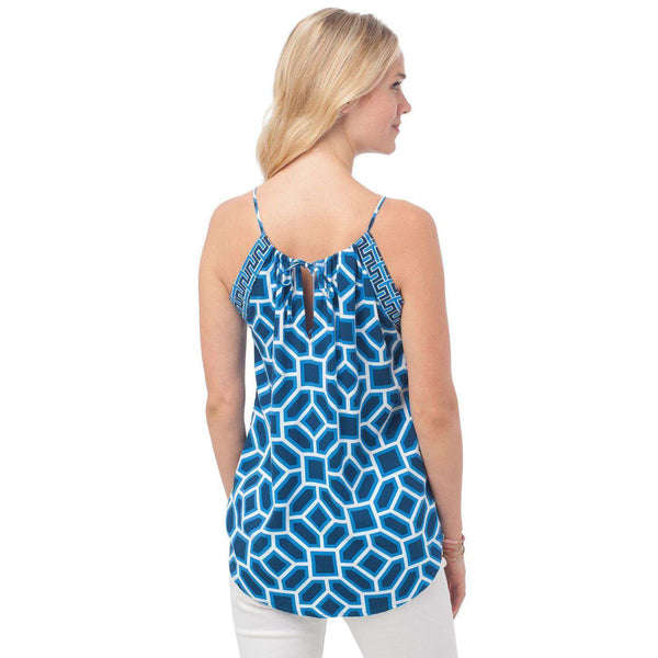 Blake Cami in Mosaic Print by Southern Tide  - 2