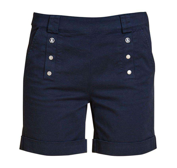 Bowline Shorts in Navy by Barbour  - 1