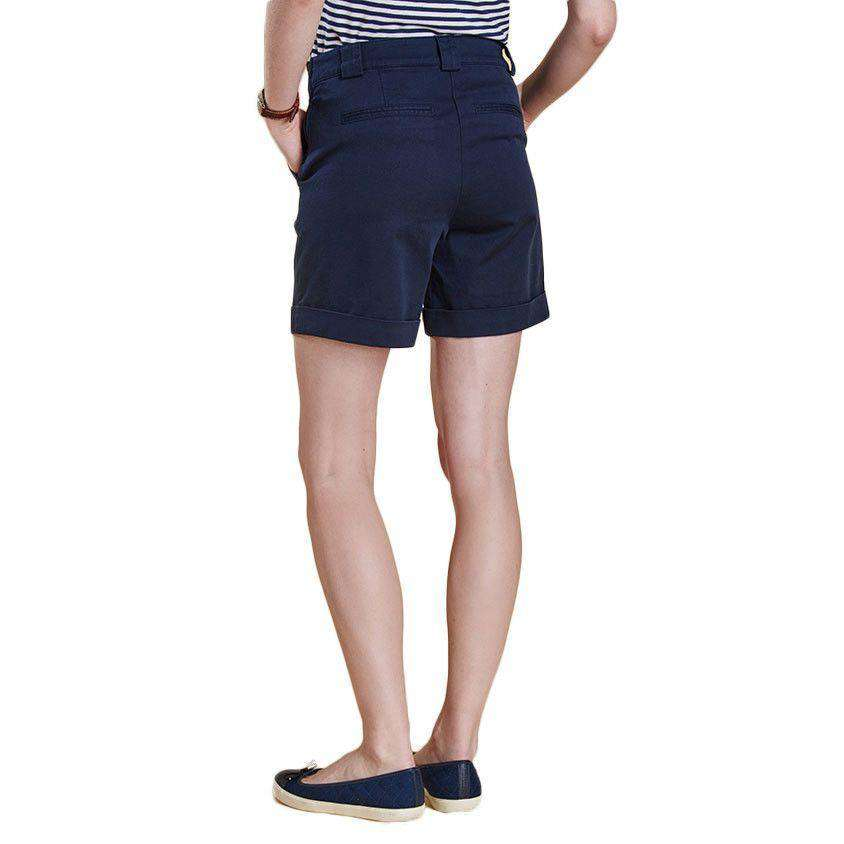 Bowline Shorts in Navy by Barbour  - 3