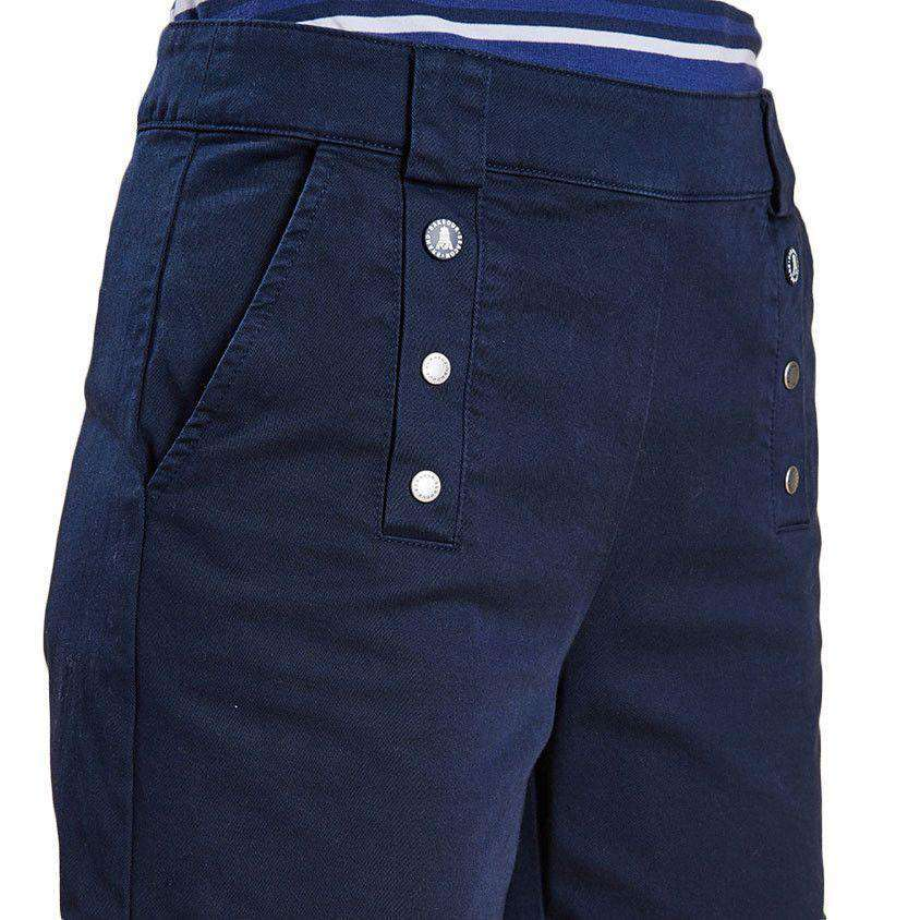 Bowline Shorts in Navy by Barbour  - 4