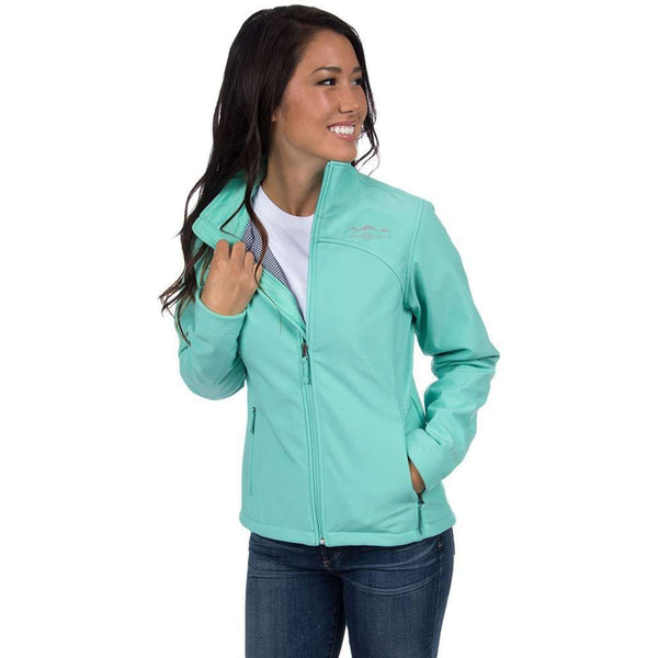 The Bradford Soft Shell Jacket Seafoam by Lauren James  - 1