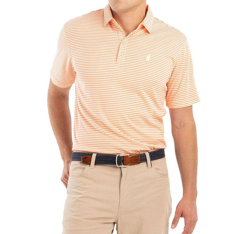Bunker Striped Prep-Formance Polo by Johnnie-O - FINAL SALE