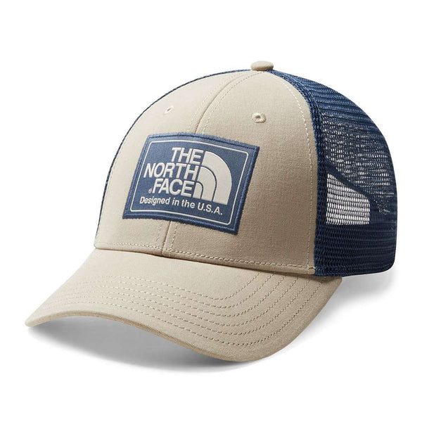 Mudder Trucker Hat in Dune Beige, Shady Blue & Peyote Beige by The North Face