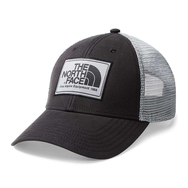 The North Face Mudder Trucker Hat in TNF Black & Mid Grey