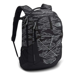 3c568acb8 The North Face Jester Backpack in Black Camo Print & High Rise Grey ...