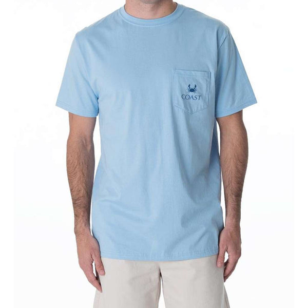 For The Buoys Classic Tee in Beachwash Blue by Coast