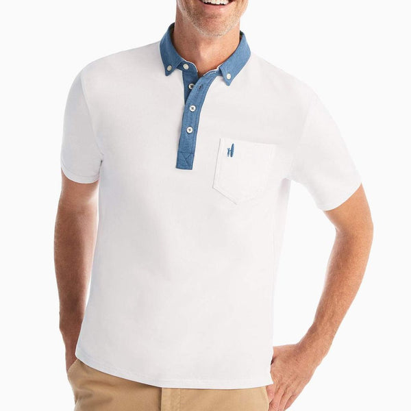 The Original 4-Button Polo - Teague - by Johnnie-O