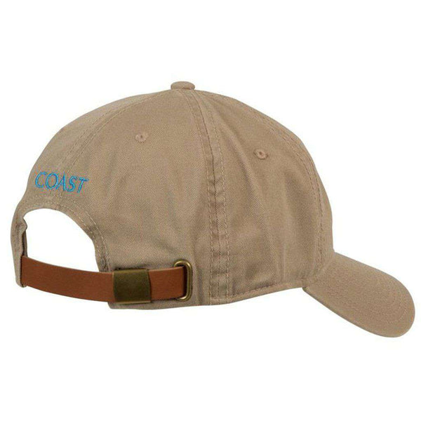 Crab Logo Hat in Khaki by Coast