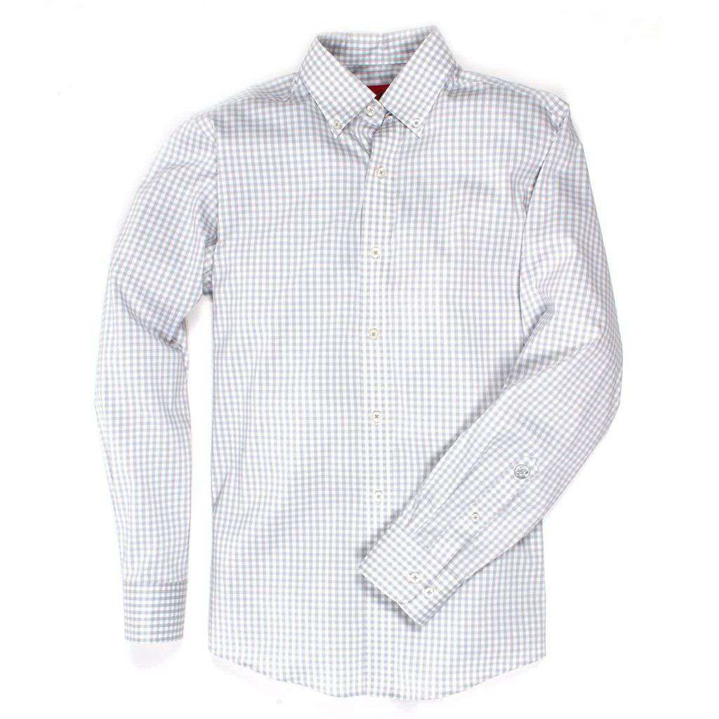 Camden Cool Performance Button Down in Vapor by Southern Proper