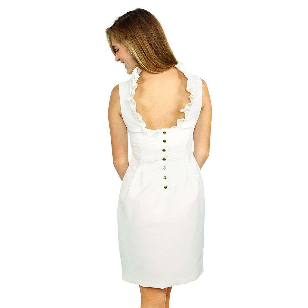 Go Go Dress in Ivory by Camilyn Beth - Country Club Prep