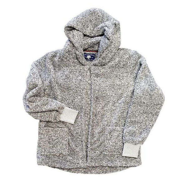 Live Oak Cardigan Fleece Hoodie in Pepper Grey