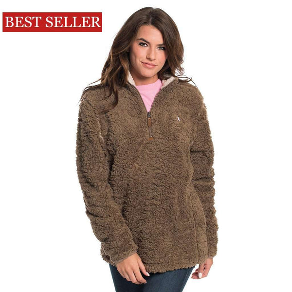 The Southern Shirt Co. Sherpa Pullover with Pockets in Caribou by The Southern Shirt Co.