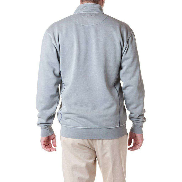 Castaway Clothing Breakwater Quarter Zip in Grey