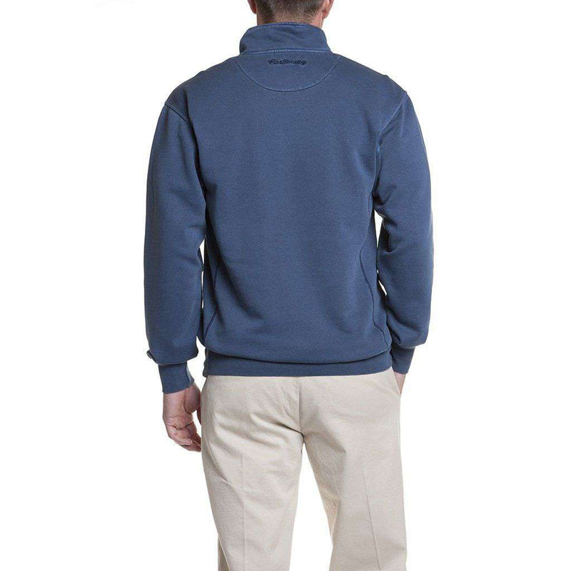 Breakwater Quarter Zip in Navy by Castaway Clothing - FINAL SALE