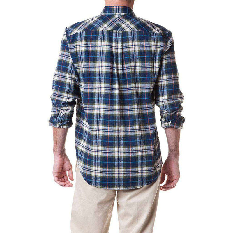 Castaway Clothing Chase Flannel Shirt in Sherwood Plaid
