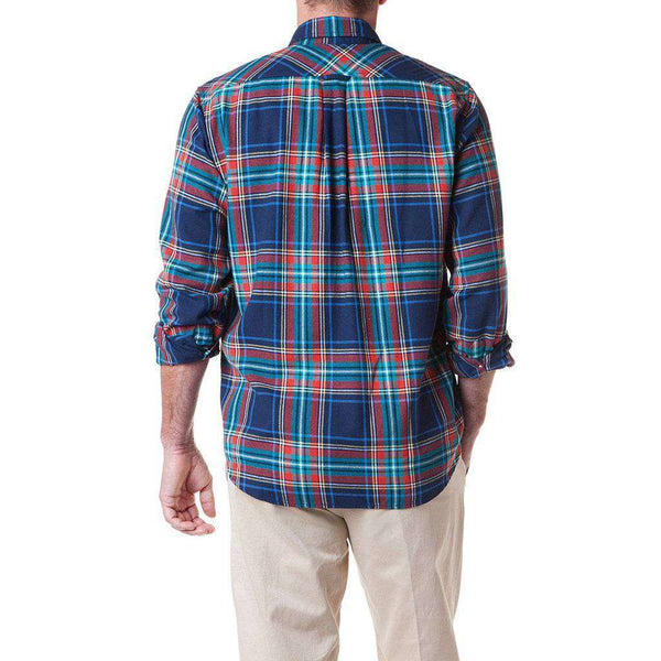 Chase Shirt in Central Wharf Plaid by Castaway Clothing - FINAL SALE