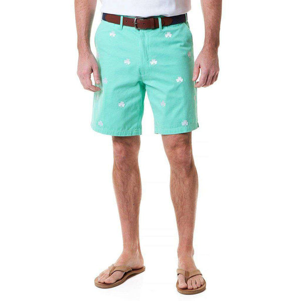 Castaway Clothing Cisco Short with Embroidered Shamrocks