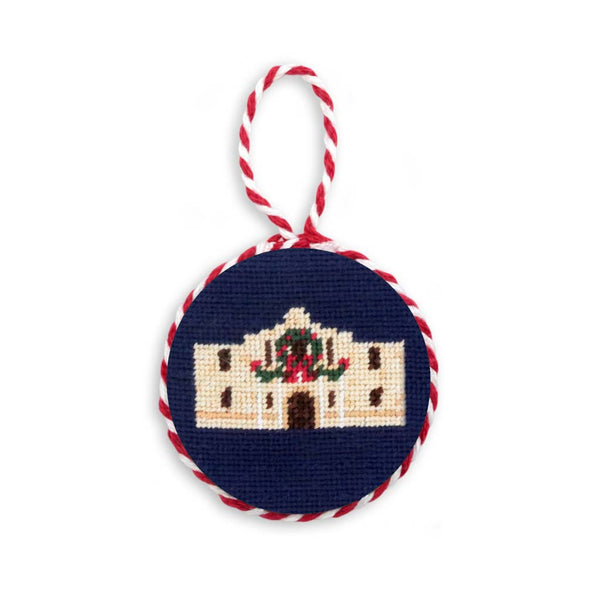 Christmas Alamo Needlepoint Ornament by Smathers & Branson