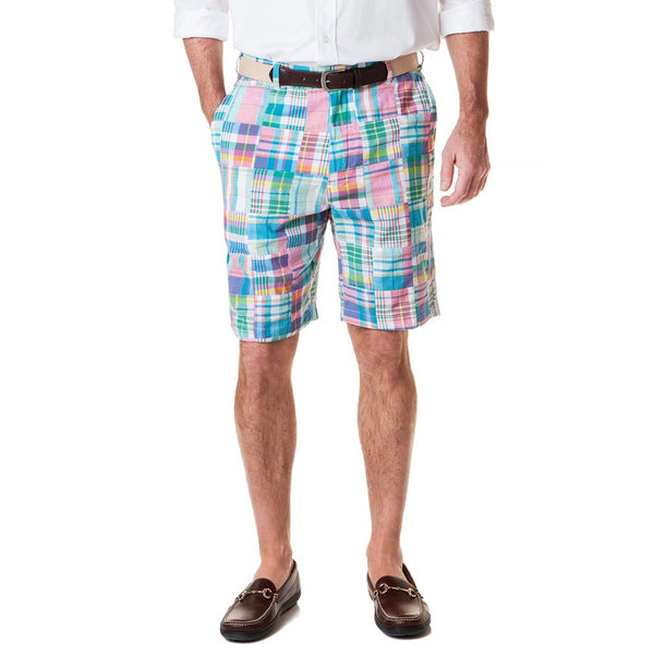 Cisco Short in Chatham Patch Madras by Castaway Clothing