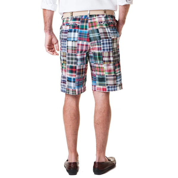 Cisco Short in Lincoln Patch Madras by Castaway Clothing